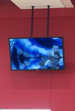 大型LCD(80型)2本吊ハンガー