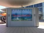 大型LCD(60型)4面マルチ什器