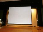 DDU/DSU 電動&手動スクリーン下巻きタイプ
